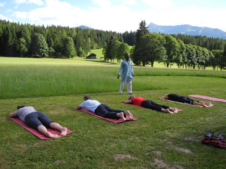 Yogastunde Open Air